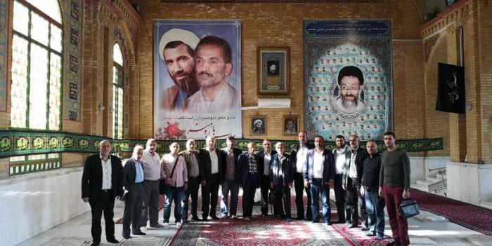زيارة رؤوساء الاتحادات والمجالس البلدية إلى الجمهورية الإسلامية الإيرانية