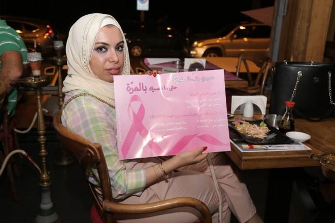 مطاعم صور تدعم حملة سرطان الثدي