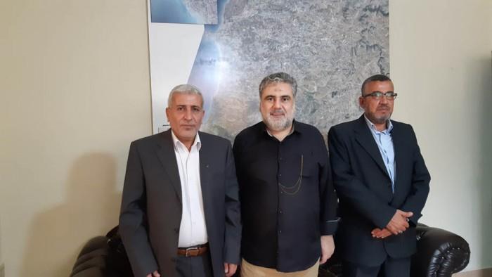 الجهاد الاسلامي في لقاء مع النائب نواف الموسوي