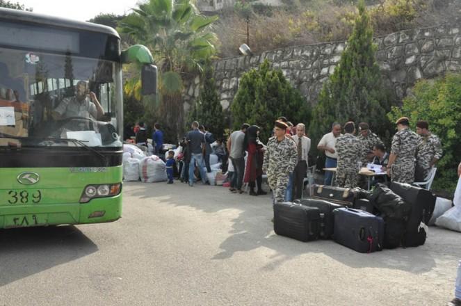 العودة الطوعية لـ 88 نازحاً سورياً في النبطية