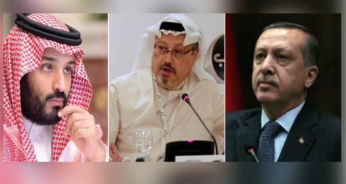 أردوغان-خاشقجي-بن سلمان