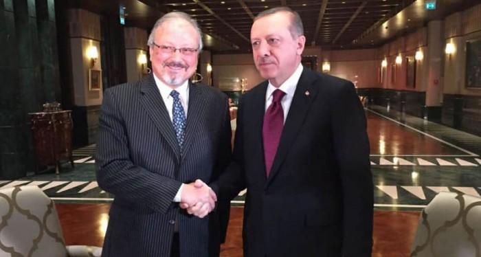 أردوغان وخاشقجي