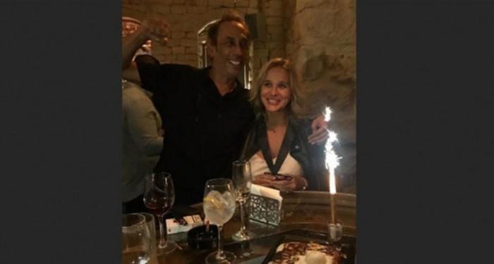 ماريو باسيل وزوجته