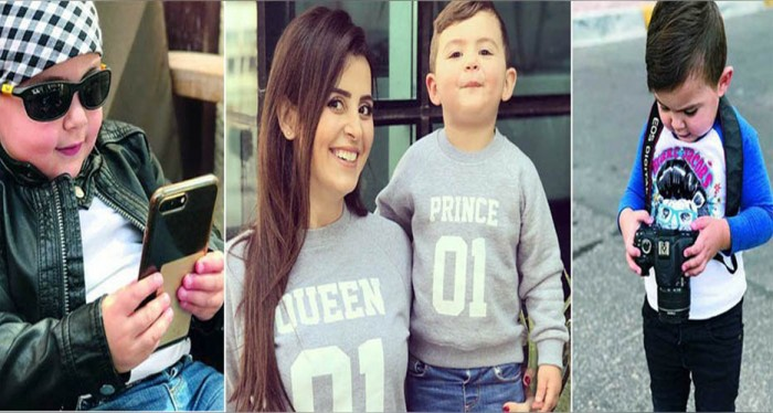 5657dc6e8 يا صور:: أصغر عارض أزياء في عالم الموضة العربية....تعرفوا على الطفل ...