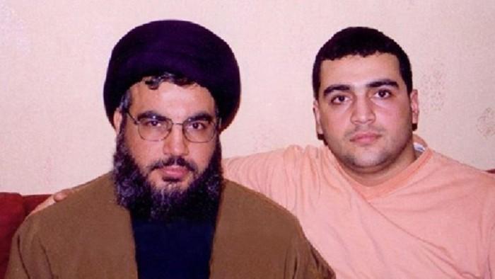 جواد نصرالله مع والده سماحة السيد
