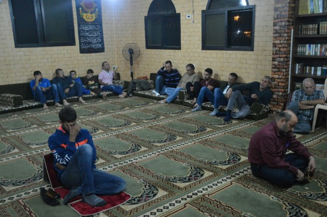 دعاء كميل في مساجد بلدة طيردبا