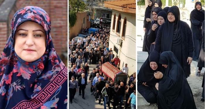 فقيدة الصبا والإغتراب المرحومة نجيبة حسين بزيع (ام جهاد)