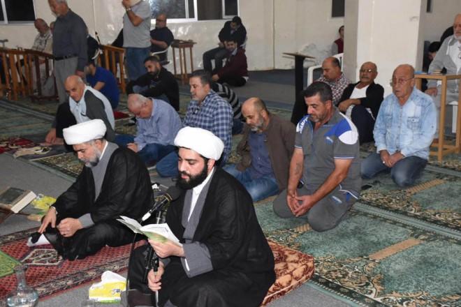 مجلس عزاء حسيني في مسجد المدرسة الدينية