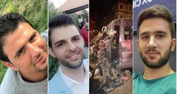 ضحايا الحادث المروع في البقاع