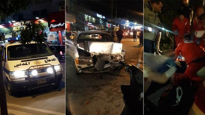 حادث سير على طريق الشبريحا - صور