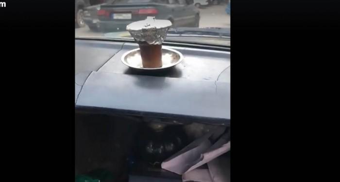 ارجيلة في التاكسي في لبنان