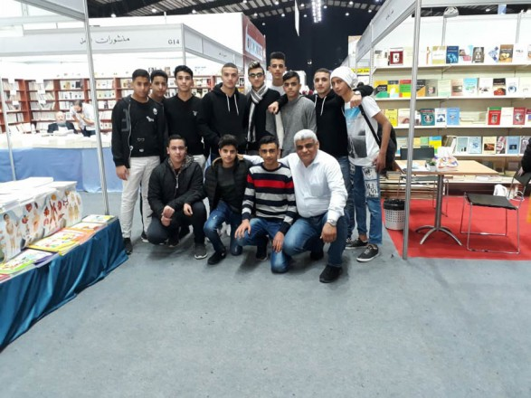 ثانوية دير ياسين في معرض الكتاب