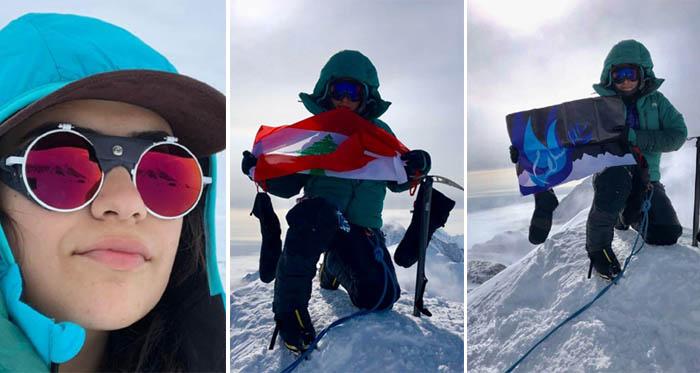 روان دقيق على قمة أنتاركتيكا