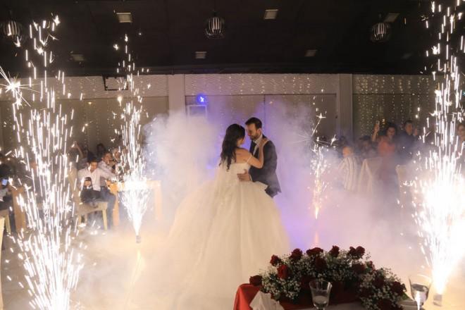 زفاف الشاب محمد غازي والآنسة رينة فواز