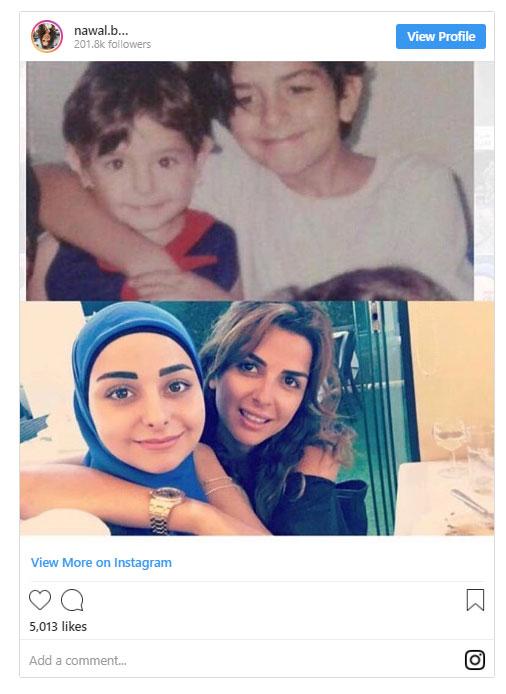 شقيقات الاعلامية نوال بري المحجبات يثرن فضول اللبنانيين  Untitled-11